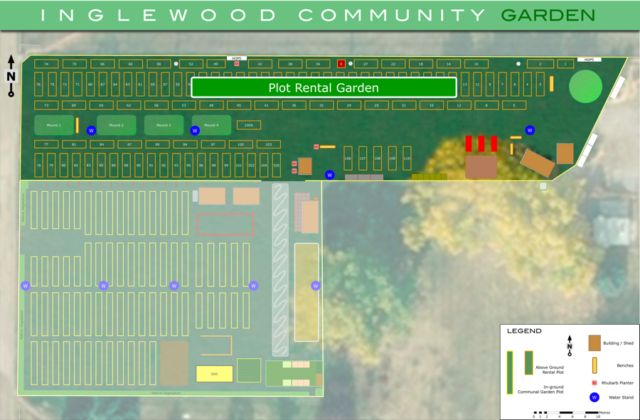 2019 Plot Rental Garden in the ICG