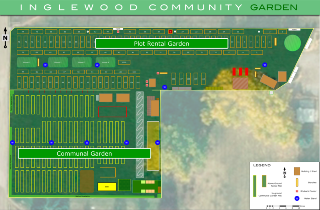 2019 Plot Rental and Communal Gardens in the ICG