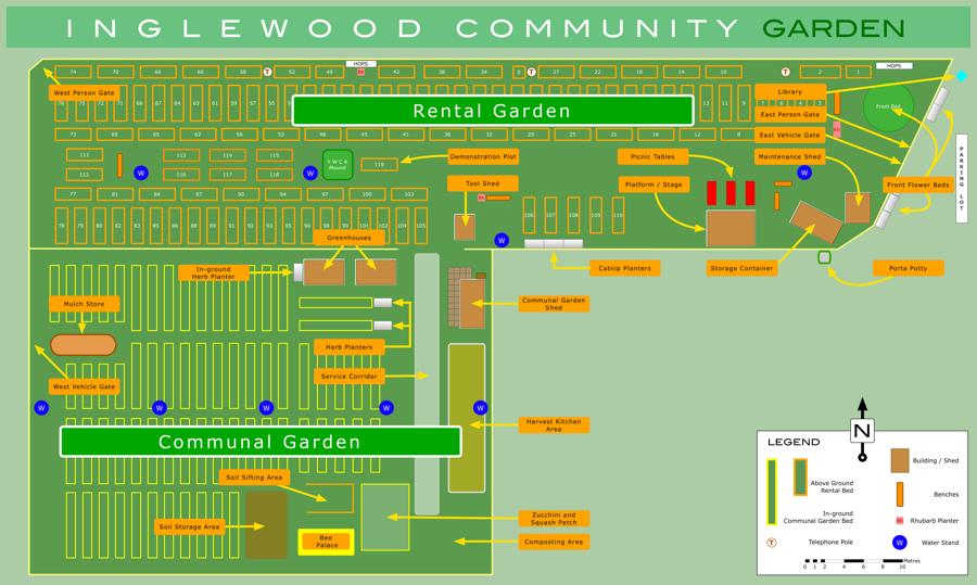 2020 Overview of the Inglewood Community Garden
